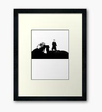 Baskerville (Option II) Framed Print