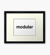 modular Framed Print