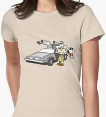 Doc Brown Women's Fitted T-Shirt