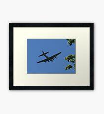 Flyover at Tahoma National Cemetery Framed Print