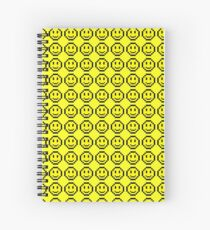 Obnoxious Smiley Face Spiral Notebook