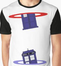 Police Box in a Portal. Graphic T-Shirt