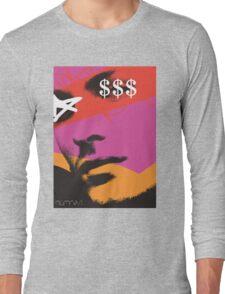POP FACE Long Sleeve T-Shirt