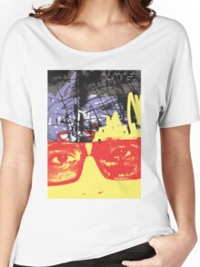 POP FACE 2 Women's Relaxed Fit T-Shirt