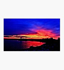 Sunrise over Denison Dam [iPhone - iPod Case] Photographic Print