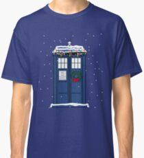 Festive Police Public Call Box. Classic T-Shirt