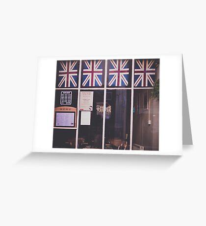 Union Jack Greeting Card