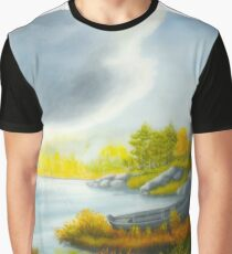 Autumnal landscape Graphic T-Shirt