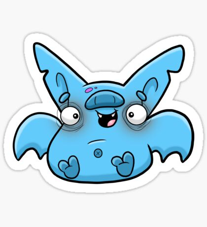 Creepies - Batty Sticker