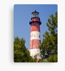 Assateague Island LIghthouse, Virginia Canvas Print