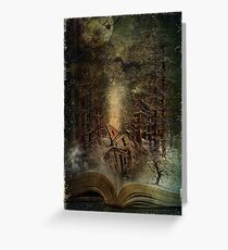 Night Story Greeting Card