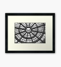 Through the roof Framed Print