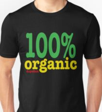 DPFM Clothing presesnts the organic tee in rasta! T-Shirt