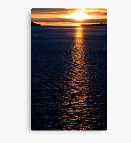 Alaskan Inside Passage  Canvas Print