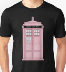 Pink TARDIS. T-Shirt