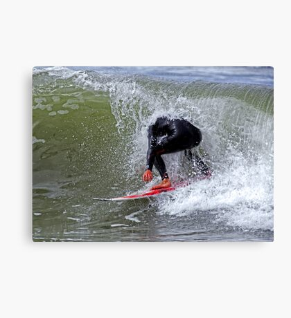 The Headless Surfer Canvas Print