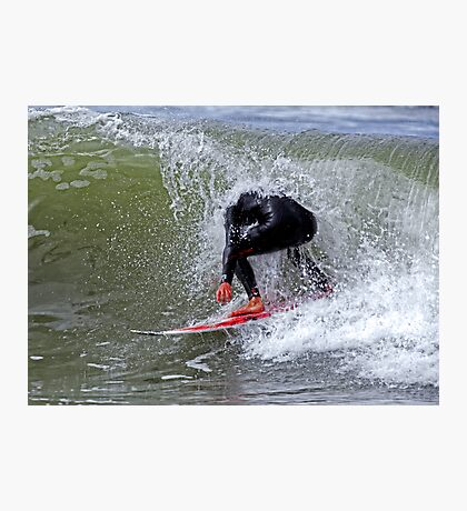 The Headless Surfer Photographic Print