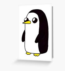Penguin. Greeting Card