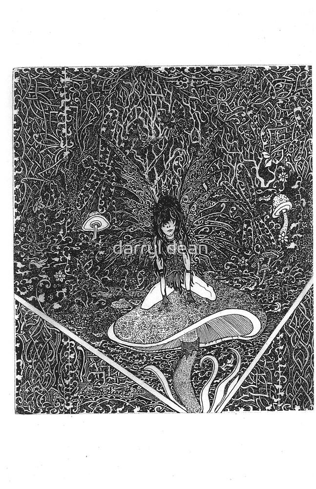 goth faerie by darryl dean