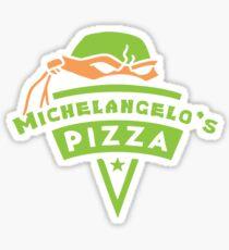 Michelangelo's Pizza Sticker