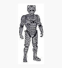New Cyberman. Photographic Print