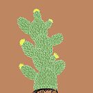 Cactus Hat Hipster Street Wear by SusanSanford