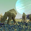 Alien Herd by Ray Cassel