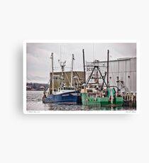 Gloucester Fishing Canvas Print