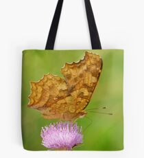 nymphalidae with thistle Tote Bag