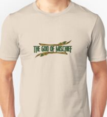 the god of mischief /2/ in green Unisex T-Shirt