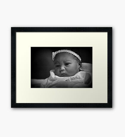 Baby Madison Framed Print