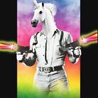 Badass Unicorn by lab80