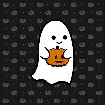 Cute Ghost's Jack o' Lantern by illumistration