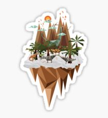 Dinosaur Land Sticker
