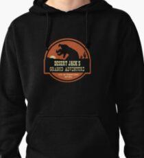 Desert Jack's Graboid Adventure logo Pullover Hoodie