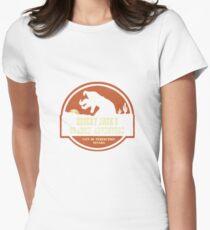 Desert Jack's Graboid Adventure logo Womens Fitted T-Shirt