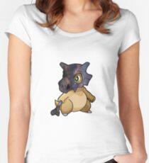 Cubone - Pokemon Women's Fitted Scoop T-Shirt