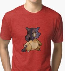 Cubone - Pokemon Tri-blend T-Shirt
