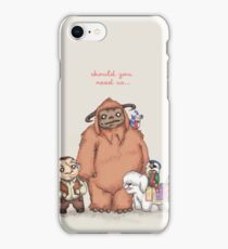 Should You Need Us... iPhone Case/Skin