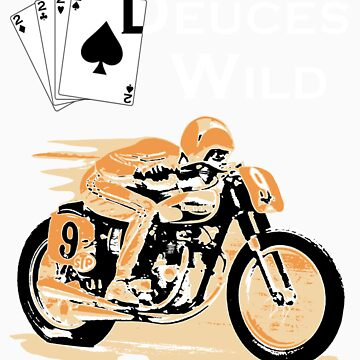 Deuces Wild Cafe Racer by twolanetommy