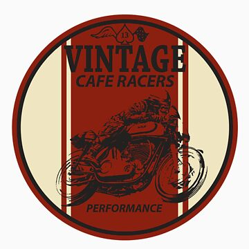 Vintage Cafe Racer by twolanetommy
