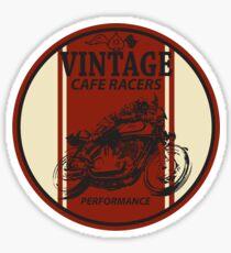 Vintage Cafe Racer Sticker
