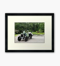 Vintage Tipper Lorry Framed Print