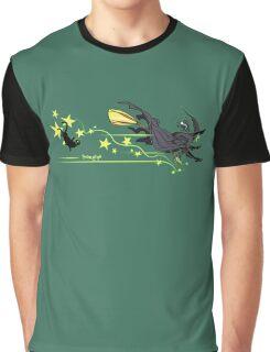 Witch says, 'Wheeeeeee!' Graphic T-Shirt