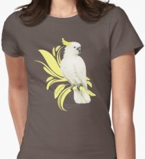 Sulphur Crested Cockatoo Women's Fitted T-Shirt
