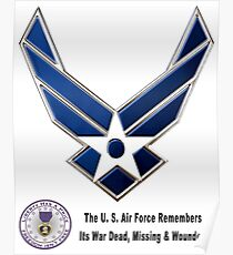 Air Force Remembers  Poster