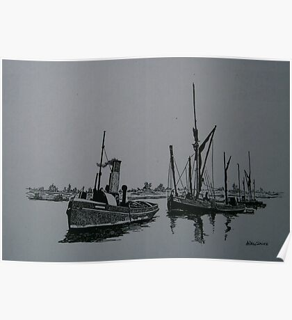 Sail and Steam Poster