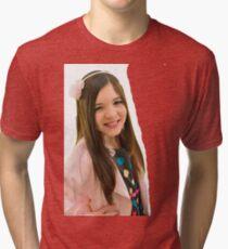 Ten year old girl Tri-blend T-Shirt