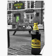 Beer Garden Poster