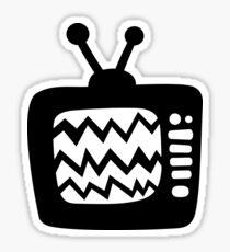 Vintage Cartoon TV Sticker